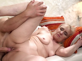 Granny Gets Young Horseshit In Her Wrinkled Old Pussy
