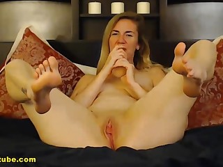 Blonde spread out really knows how to carry through well.