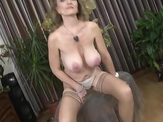 Posh grandma yon fat saggy titties