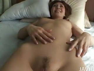 Japanese shaved mom Mao Hosaka used by young guy