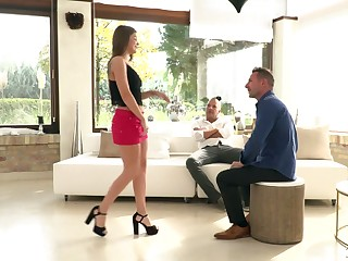 Charming babe Renata Spirit of evil gets double penetrated be expeditious for the first time