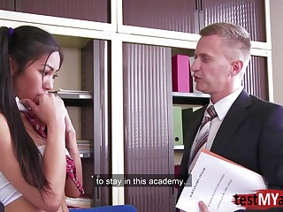 Busty Japanese sexetary is pounded by one of bosses in the designation