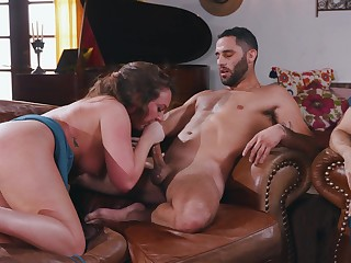 Big ass Maddy Oreilly, in scenes of rough cuckold