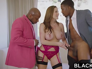 BLACKED Uncompromisingly Hot Trophy Wife Fucks BIG BLACK DICK In Husband S Bed - ANALDIN