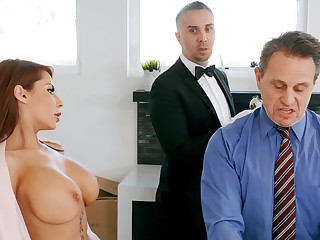 Horny government worker is obtainable to anal fuck housewife
