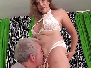 Mature with big tits, insane porn scenes unaffected by wonted