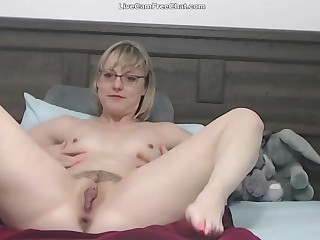 Get under one's hottest mother with short hair and glasses like real teacher and join in matrimony