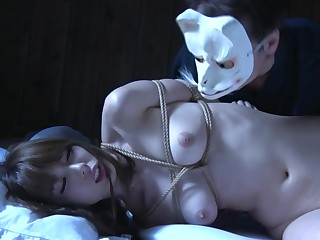 JAV yobai night crawling with bound Yui Hatano