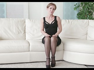 Ukrainian babe Sasha Zima gets naked and enjoys playing with will not hear of pussy