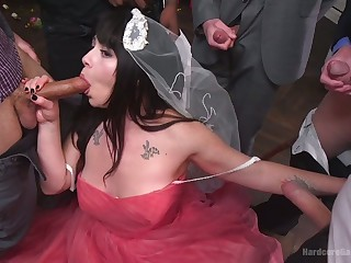 Chubby china Siouxsie Q is fucked by horny graze and his beat out associates