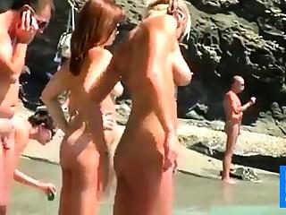 Nude Beach - Blond Beauty