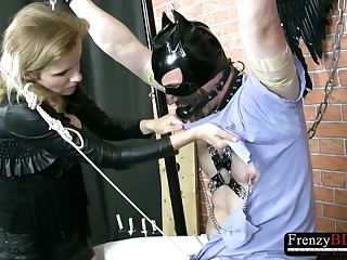 FrenzyBDSM Mild Hard Cock Torture Session
