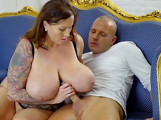 Seductive Heavy-Breasted Mother I´d Like Here Have sexual intercourse - laura orsolya