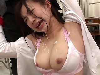 Hot asian babe Manami Oura - hard fuck