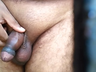 CUTE  BOY FULL NAKED SHOWING HIS SEXY LONG DICK With an increment of MASTURBATING