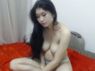 Chinese  showed her body to the fullest girlfriend away