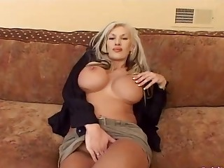 Fake bosom Michelle anal penetrated hardcore deeply