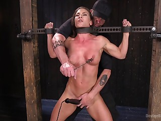 Extreme torture be fitting of Ariel X not far exotic double penetration exotic toys