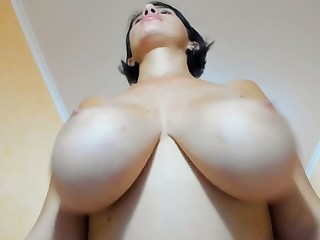Cam of my huge boobs sister