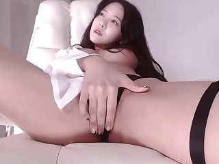 Tender brunette hot webcam video
