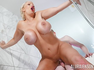 Erotic shower reverie on a young man's zooid Hawkshaw