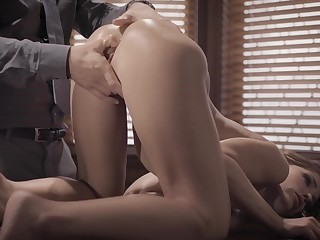 Anal for the on one's beam-ends designation chick in a glorious tryout