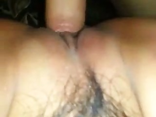 This slut's hairy muff is in need of some deep indoctrinate and she's as a result wild