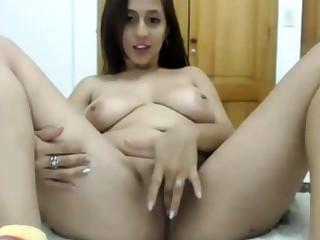 unsighted latina having fun masturbating exposed to webcam live