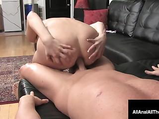 Cute 18yo Ashlyn Leigh Gets Asshole Fucked Gaped & Rimmed!