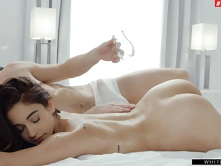To make Ginebra Bellucci happy you ought to fuck both of her holes