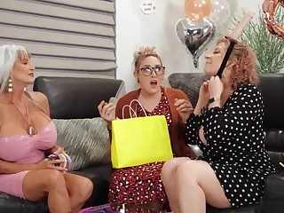 Pornography grandmothers bachelorette soiree before buddy's nuptial